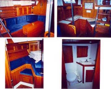 1990 Bristol 43.3 sailboat