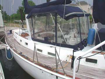 1998 Bruce Roberts 38 offshore ketch sailboat
