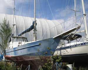1981 Bruce Roberts 43' Steel Ketch sailboat
