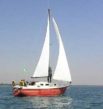 1978 Buccaneer 277 sailboat