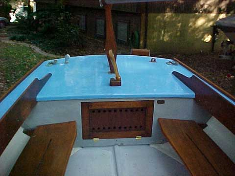Bullseye sailboat