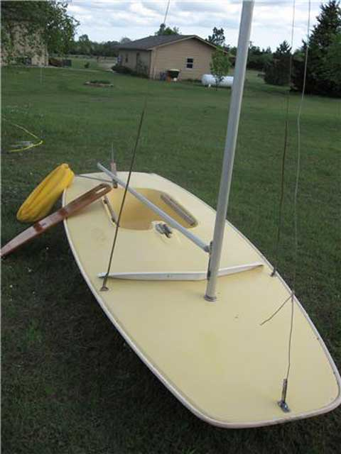 Butterfly sailboat