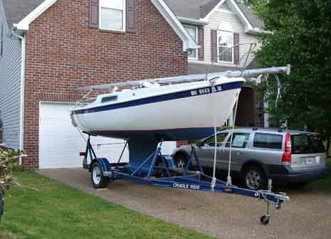 1963 Cal 20 Sailboat For Sale