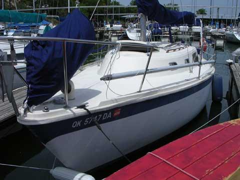 Cal 2-27 sailboat