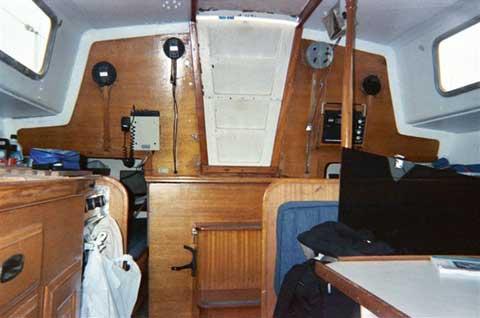 Cal 34 sailboat
