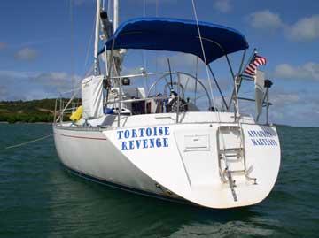 1988 Canadian Sailcraft 36 sailboat