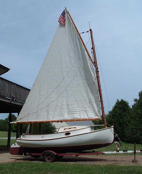 Boat Sales Cape Cod: Cape Cod Catboat 15 Sailboat For Sale