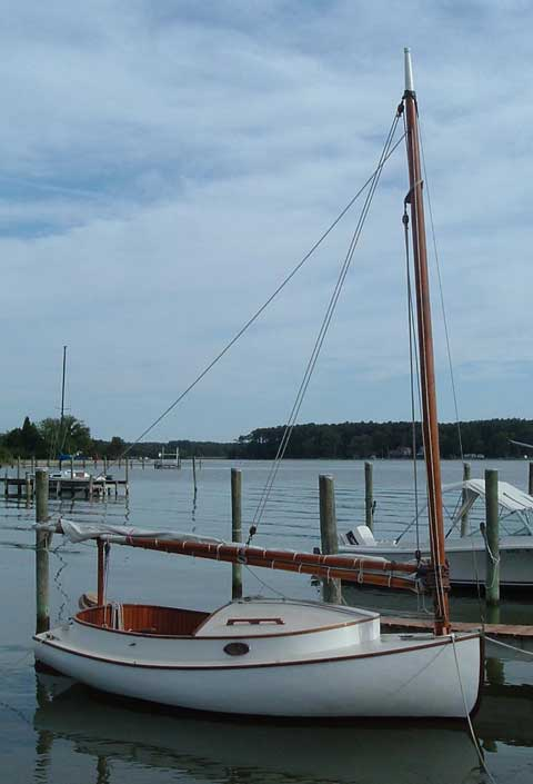 Cape Cod Catboat 15 Sailboat For Sale