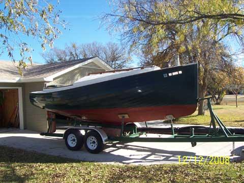 Cape Cod Catboat 20 sailboat