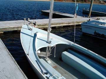 Cape Cod Mercury sailboat