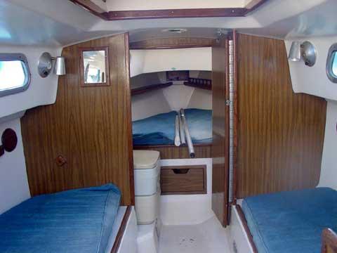 Cape Dory 25 sailboat