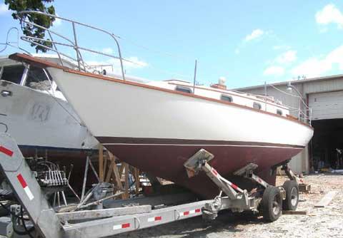 Cape Dory 30 sailboat