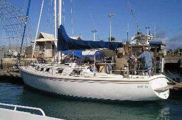 1987 Catalina 34 sailboat