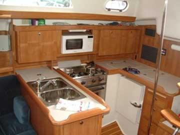 2004 Catalina 350 sailboat