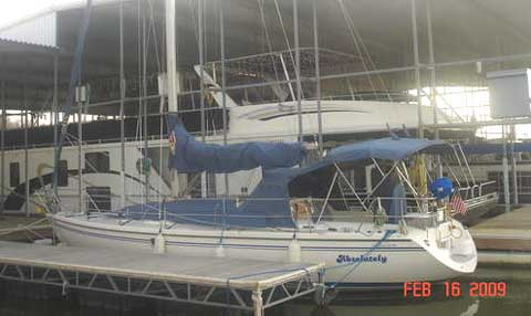 Catalina 36 MK II sailboat