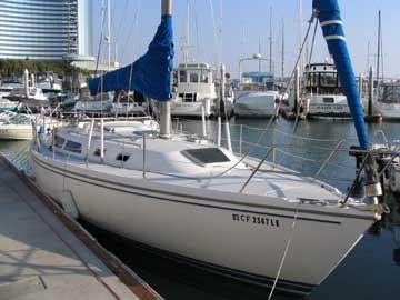 1992 Catalina 36 sailboat