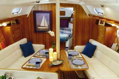 Catalina 387 yacht