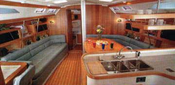 1999 Catalina 400 cabin