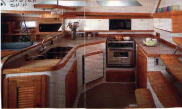 1999 Catalina 400 galley