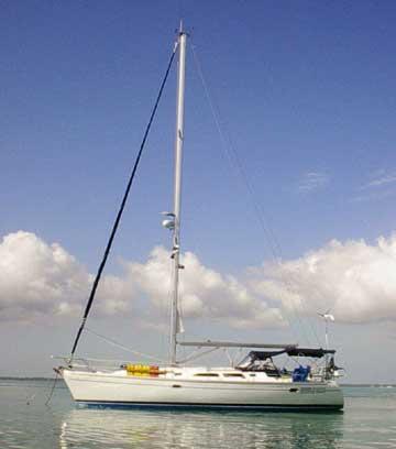 2002 Catalina 400 Mark II sailboat