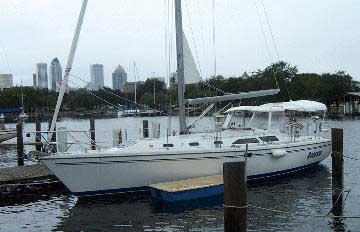 Catalina 42 MK II sailboat