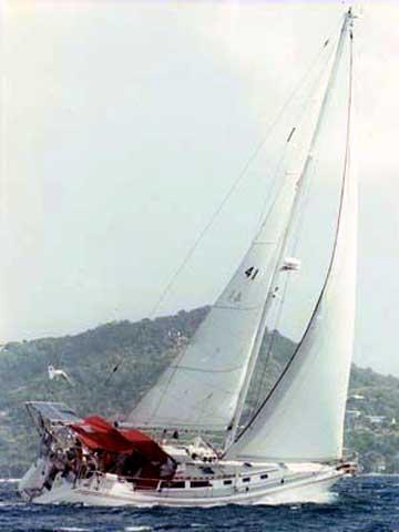 1989 Catalina 42 sailboat