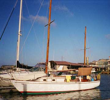 1972 Cheoy Lee Offshore 33 Ketch sailboat