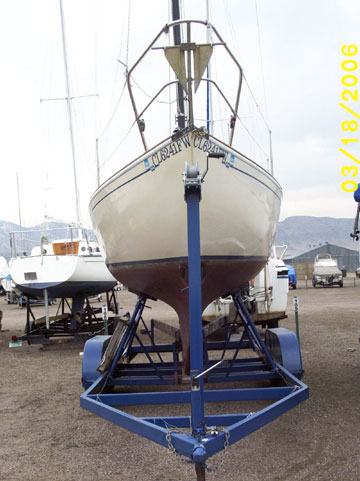 1978 Contessa 26 sailboat
