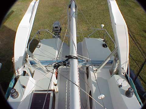 Corsair F-28R sailboat