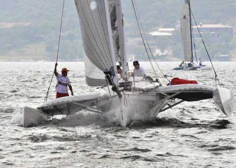 Corsair 31-1D C276 sailboat