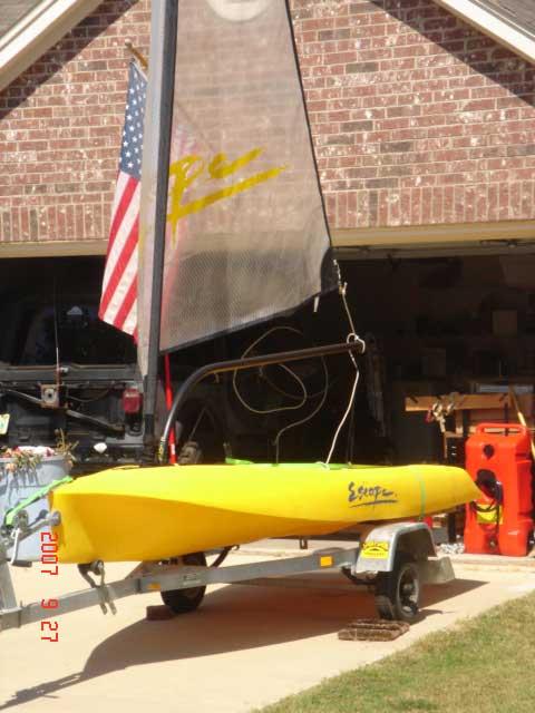 Escape 12 sailing boat