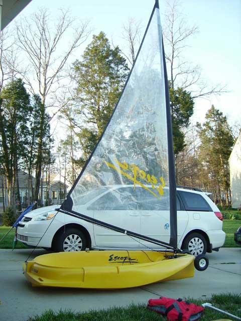 Escape Solsa sailboat