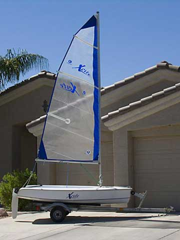 2003 Hunter Xcite 10 sailboat