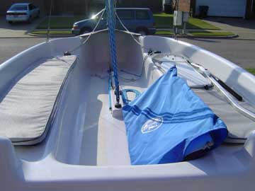 2003 Hunter 146 sailboat