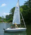 Hunter 146 sailboat