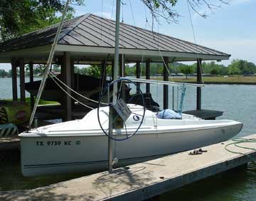 2003 Hunter 216 sailboat
