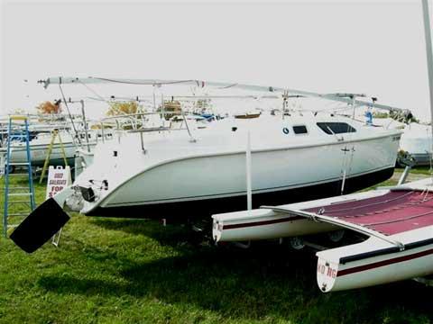 Hunter 25 sailboat