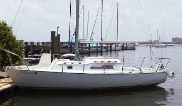 1970 Irwin 23 sailboat