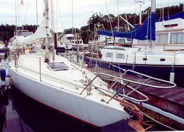 1976 Custom Bermuda 40 sailboat