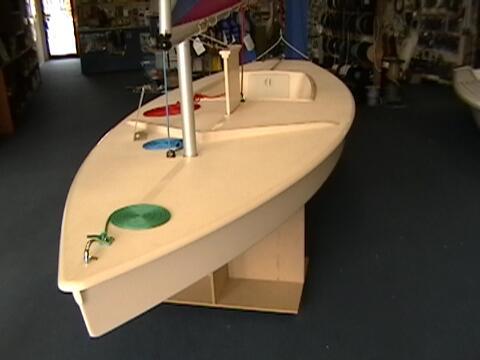 BigFish sailing boat