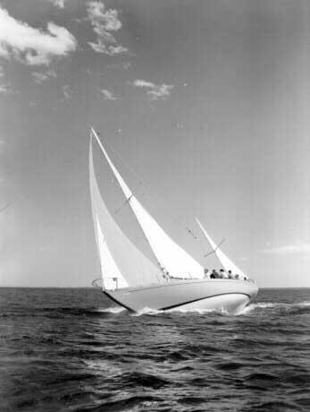 Block Island 40 sailboat