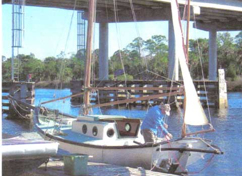Blue Moon 23 sailboat