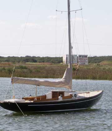 1977 Bluenose 24 sailboat