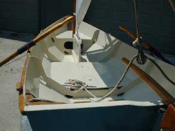 Bolger Cartopper sailboat