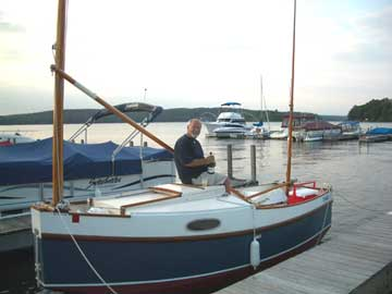 2001 Bolger 16 cat yawl sailboat