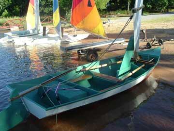 1994 Bolger Gypsy sailboat
