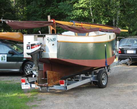 Bolger Micro 16 sailboat