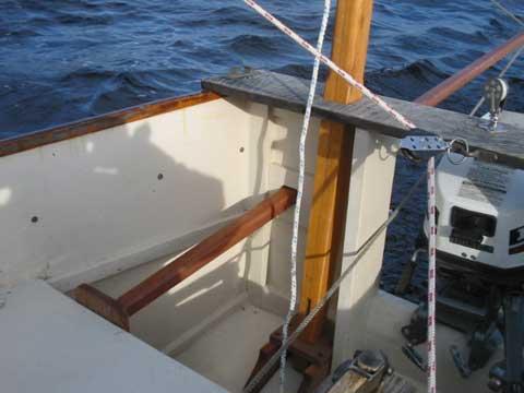 Bolger Micro 16 sailboat