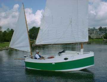 1999 Bolger Micro 16 sailboat