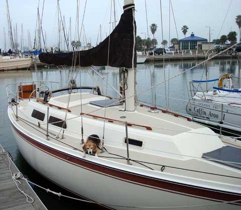 Cal 31 sailboat